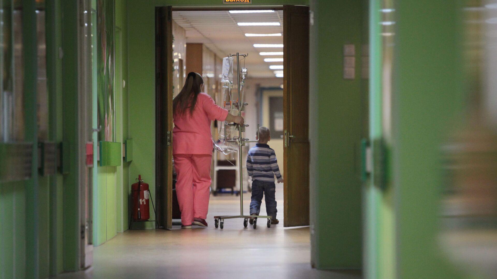 Деткое онкологическое отделение городской больницы №31 в Санкт-Петербурге - РИА Новости, 1920, 24.09.2021