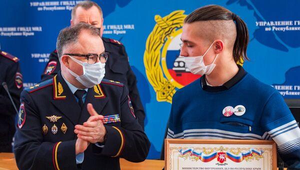 Иван Долгов, студент Белогорского технологического техникума