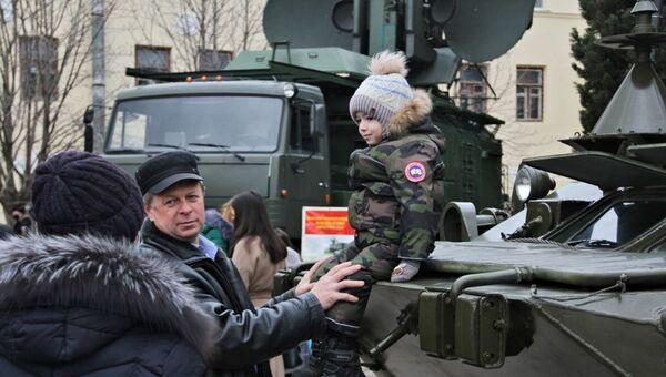 День открытых дверей в Черноморском высшем военно-морском училище имени Нахимова