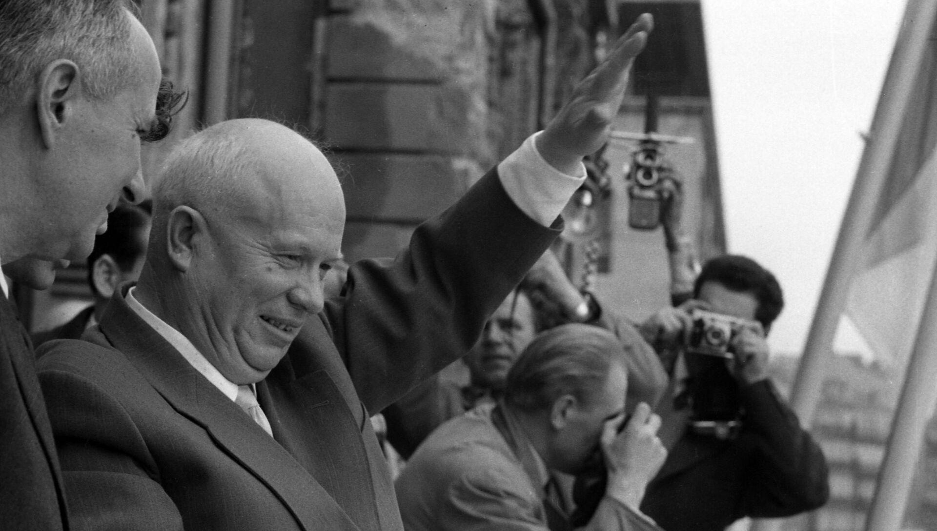 Визит первого секретаря Центрального комитета Коммунистической партии Советского Союза, председателя Совета Министров СССР Никиты Хрущева во Францию - РИА Новости, 1920, 25.02.2021