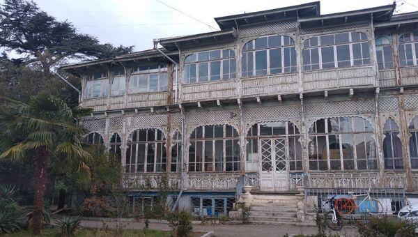 Усадьба Меллер-Закомельского (санаторий Киев). Ялта