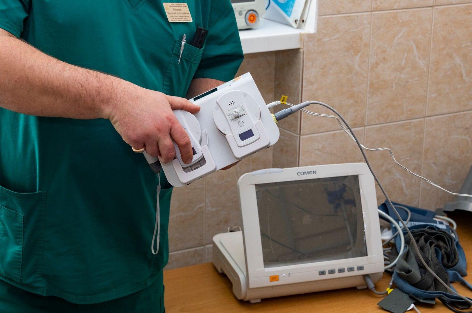 В бывший ковидный госпиталь-роддом в Крыму закупили новое оборудование - РИА Новости, 1920, 05.03.2021