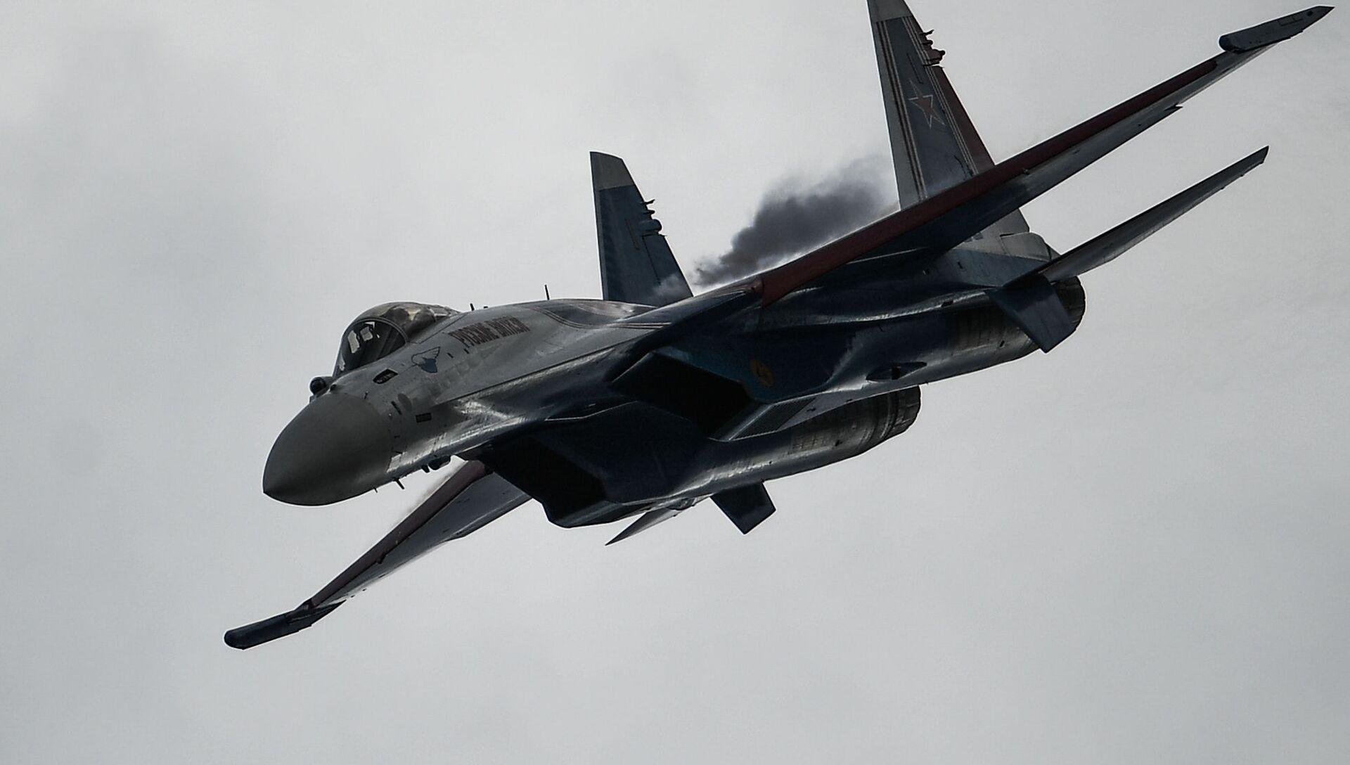 Истребитель Су-35С. Архивное фото - РИА Новости, 1920, 31.07.2021
