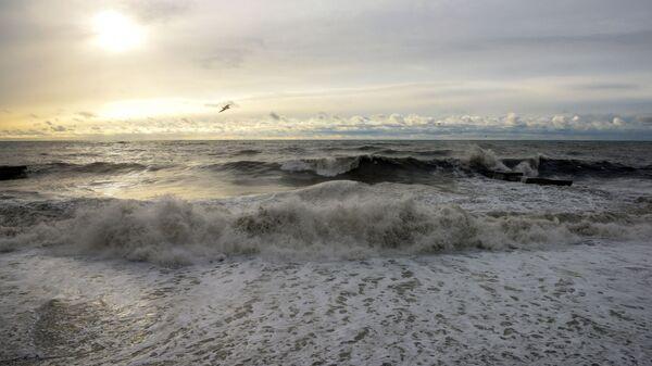 Шторм в Черном море