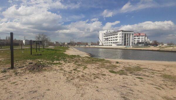 Солдатский пляж в Феодосии