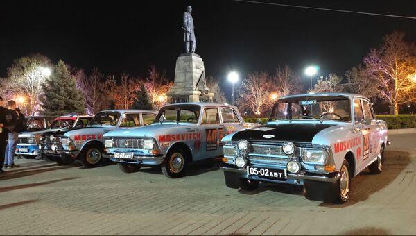 Авторалли ретроавтомобилей стартовало из Севастополя