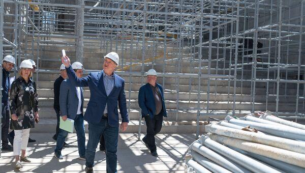 Рабочая поездка вице-премьера РФ Марата Хуснуллина в Севастополь