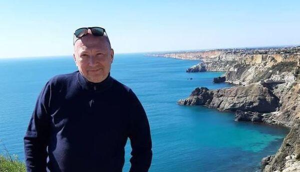 Юрий Гальцев на отдыхе в Крыму
