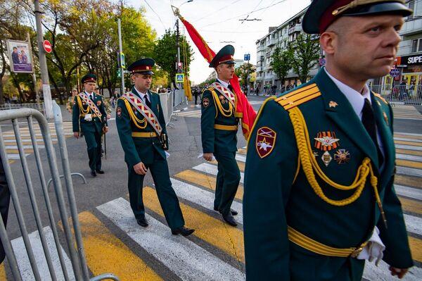 Репетиция Парада Победы в Симферополе 2021