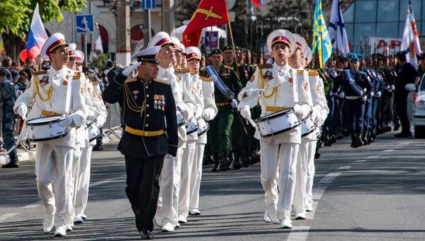Парад Победы в Симферополе 2021