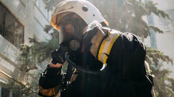пожарный в Севастополе