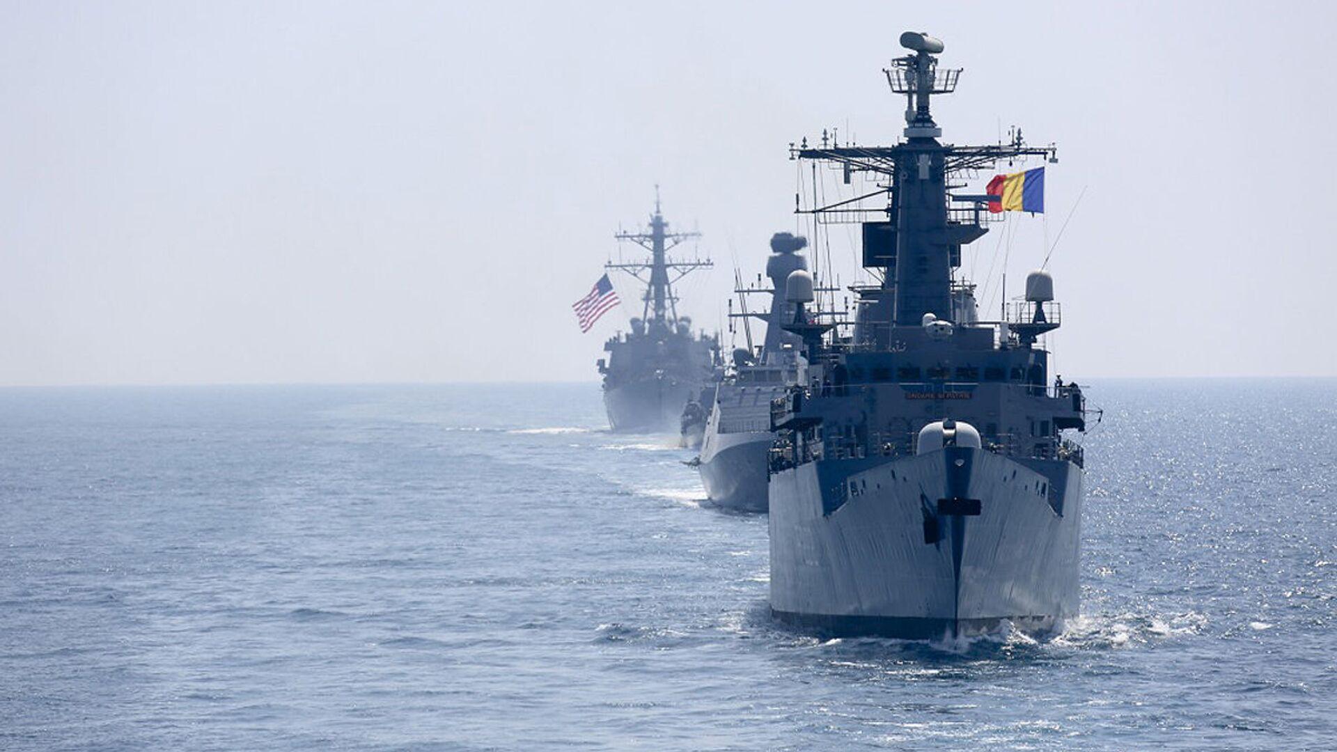 Корабли НАТО в Черном море - РИА Новости, 1920, 01.08.2021