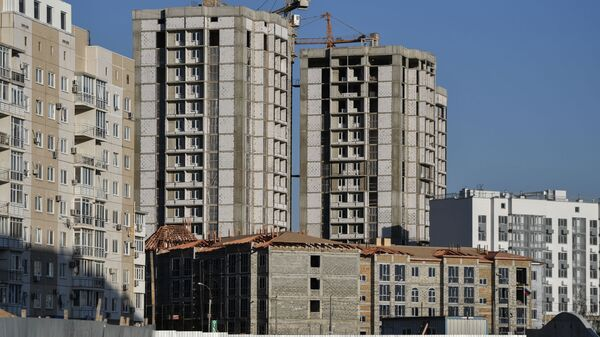Строительство жилого комплекса в Симферополе