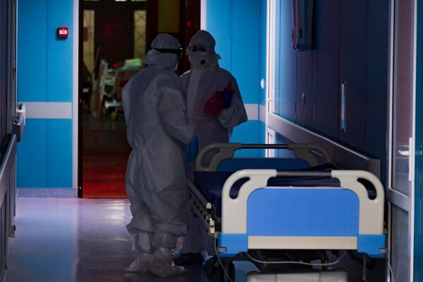 За время пандемии отделение теряло не только пациентов, но и врачей.