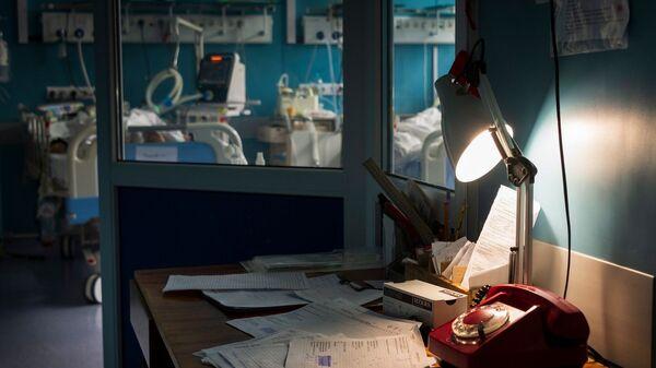 В красной зоне ковидного госпиталя
