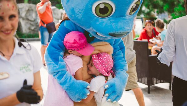 Детский тематический фестиваль в парке Дримвуд