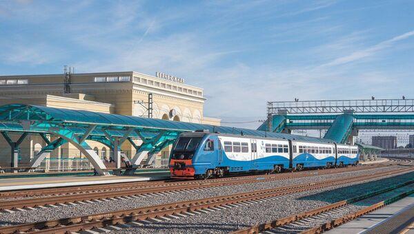Станция Крымской железной дороги Керчь-Южная