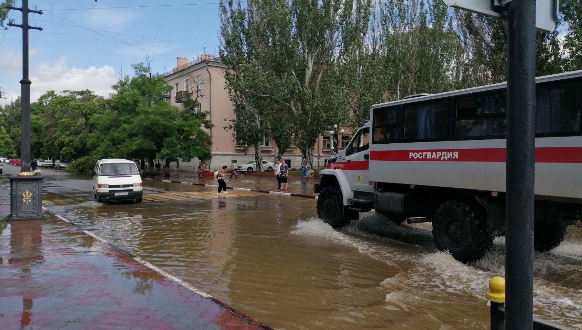 Затопленная Керчь - РИА Новости, 1920, 25.06.2021