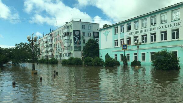 Последствия затоплений в Керчи