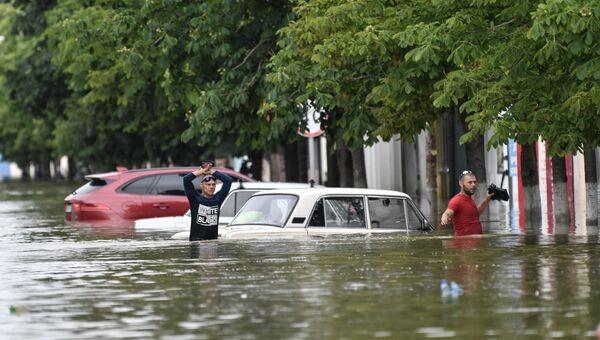Подтопления в Керчи из-за ливней