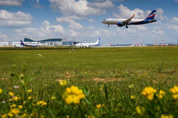 Юбилейный летний споттинг в аэропорту Симферополь