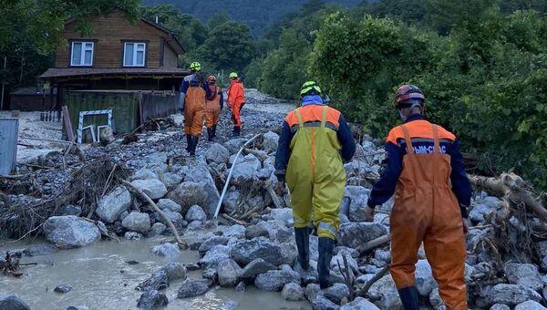 Ликвидация последствий потопа в Ялте