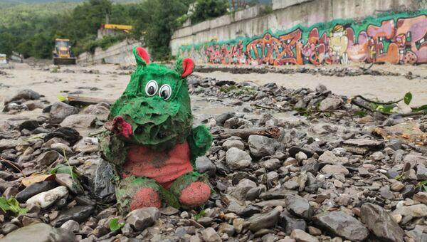 Наводнение в районе Васильевка в Ялте