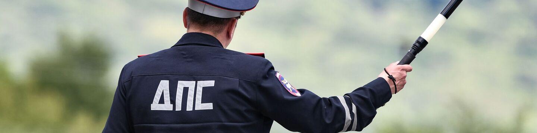 Сотрудник ДПС ГИБДД в Крыму