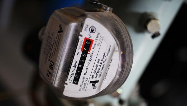 Газовый счетчик. Архивное фото