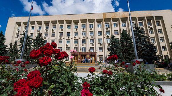 Здание городского совета Симферополя