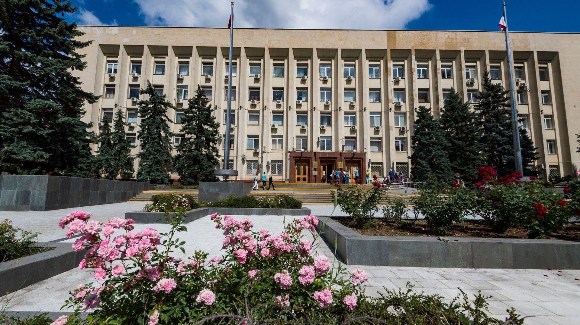 Здание городского совета Симферополя - РИА Новости, 1920, 23.08.2021