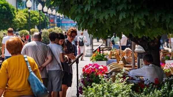 Пешеходная улица Симферополя