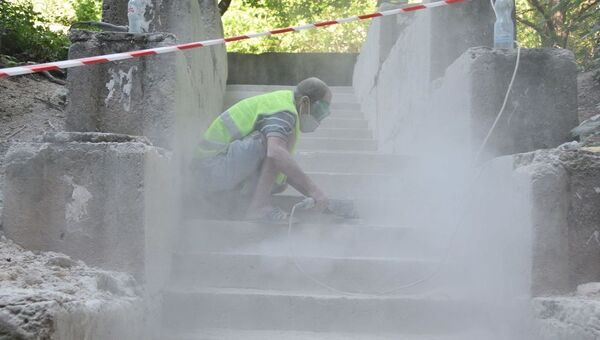 Ремонт городских лестниц в Симферополе
