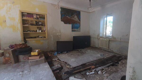 Квартира в Керчи после потопа