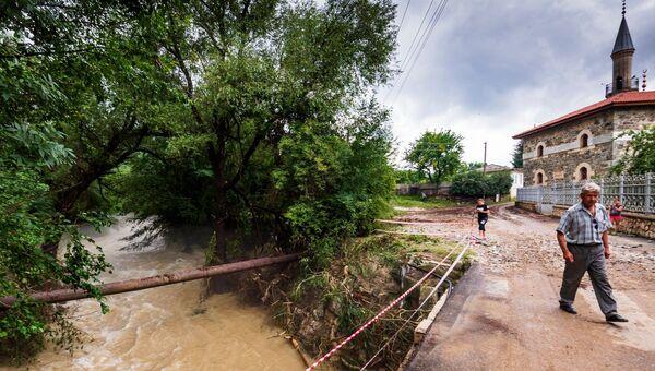 Наводнение в бельбекской долине
