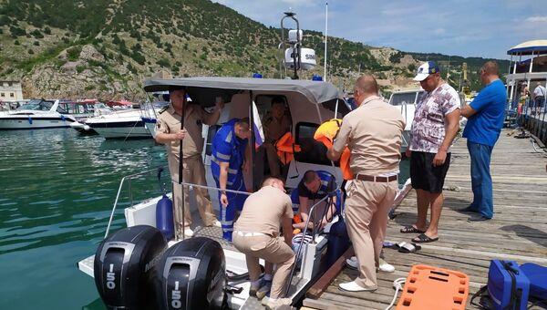 В Севастополе спасли туриста, сорвавшегося со скалы