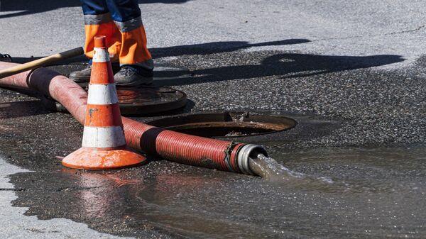 Авария на городском водопроводе