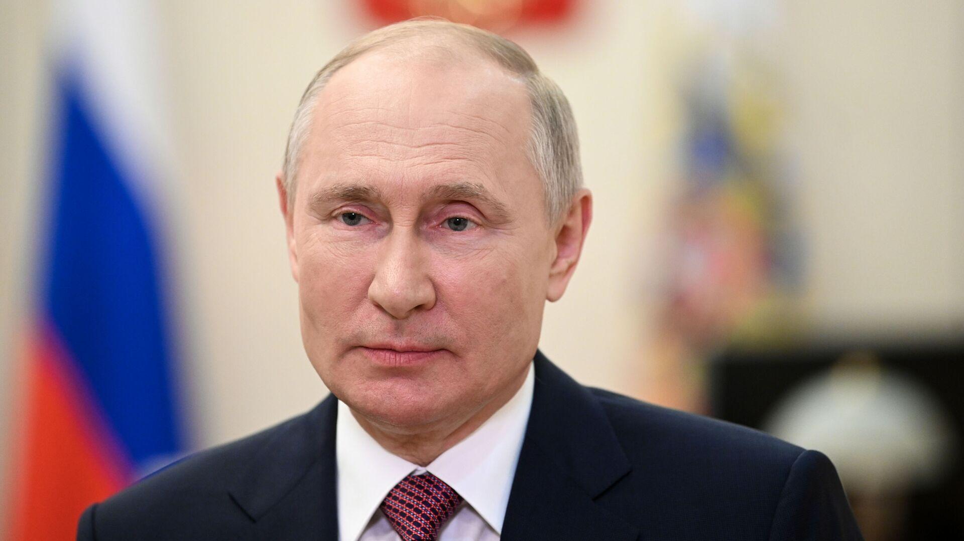 Президент РФ Владимир Путин - РИА Новости, 1920, 13.07.2021