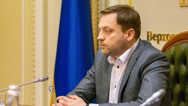 Денис Монастырский, депутат Верховной рады Украины