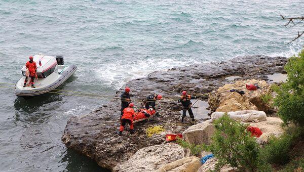Подразделение ПСП ЦГЗ во время спасательной операции