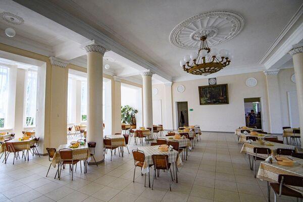 Столовая в санатории Старый Крым
