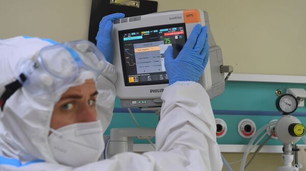 Лечение больных с COVID-19 в ГКБ №52