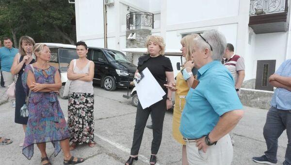 Янина Павленко в санатории Меллас