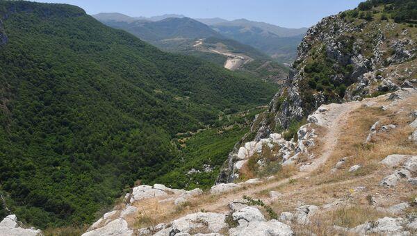 Город Шуша в Азербайджане