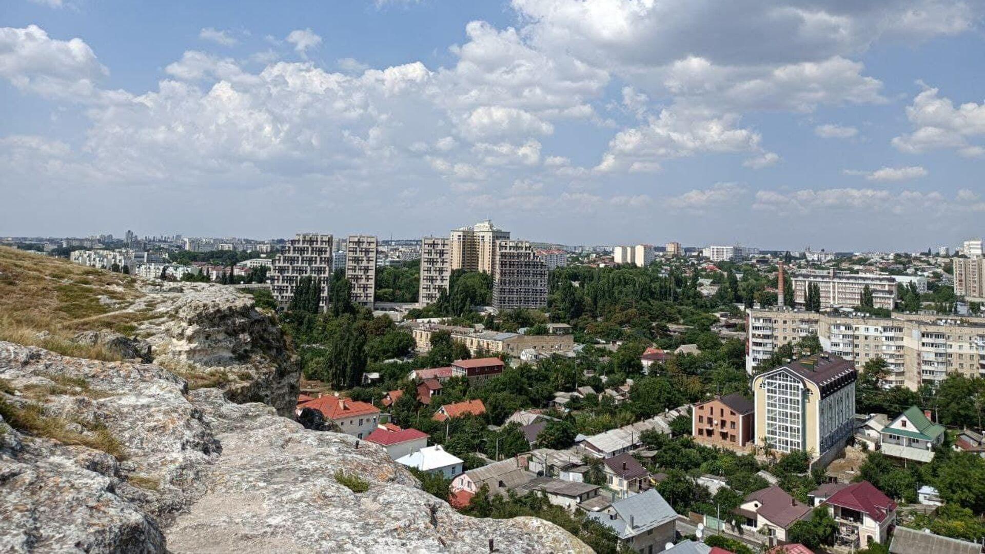 Симферополь с высоты Петровских скал - РИА Новости, 1920, 24.09.2021