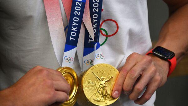 Встреча победителей и призёров Олимпийских игр 2020
