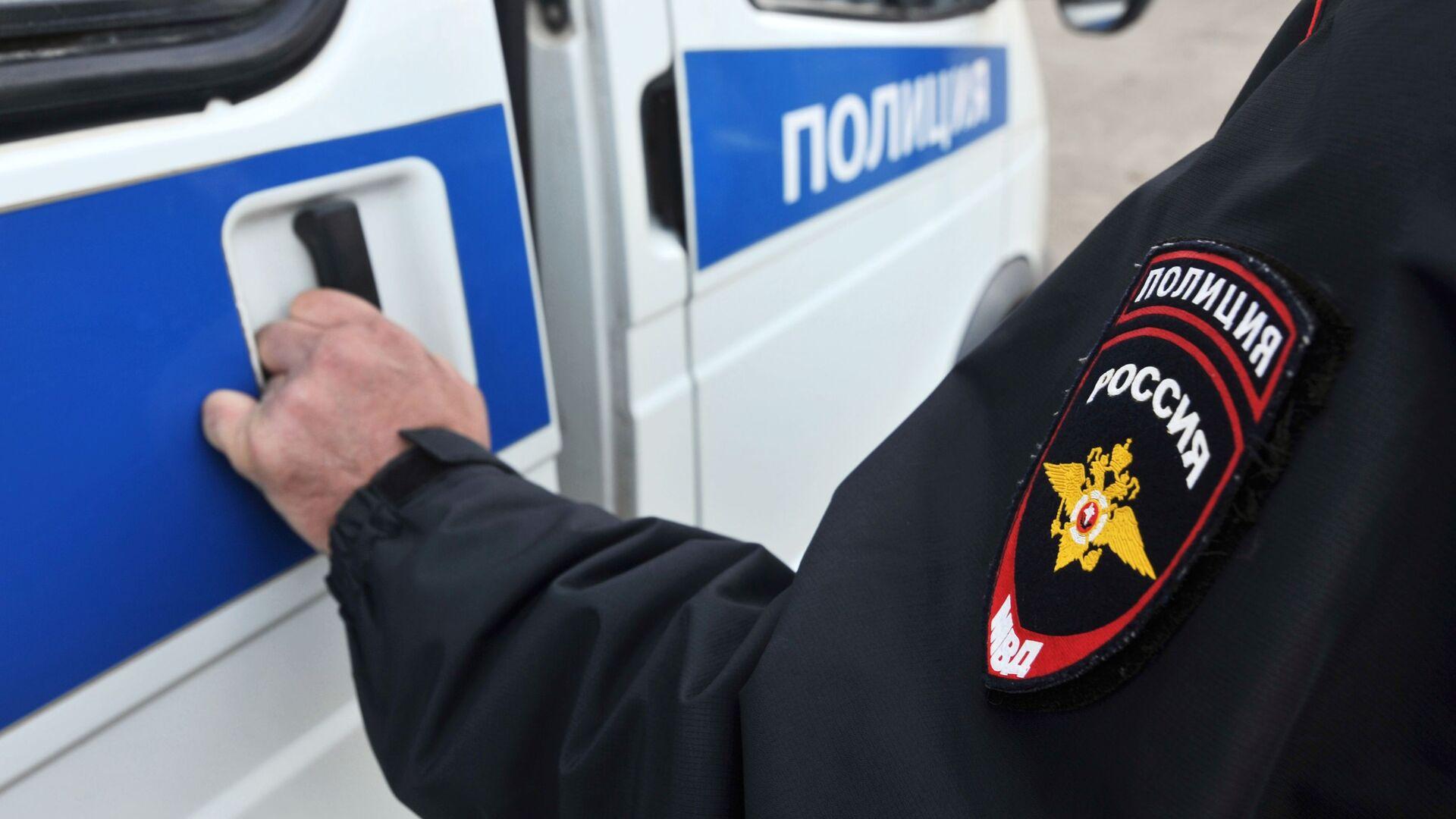 Сотрудник полиции - РИА Новости, 1920, 22.09.2021