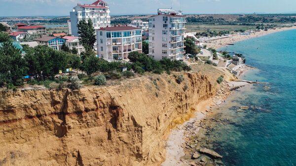 Беспилотники МЧС обследуют обвалоопасные участки на побережье Севастополя