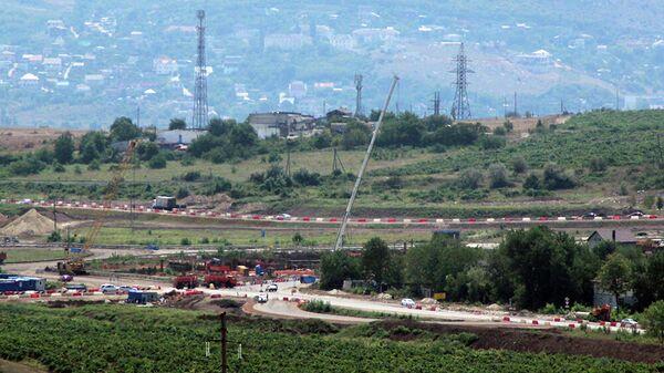 Строительство Ялтинского кольца в Севастополе
