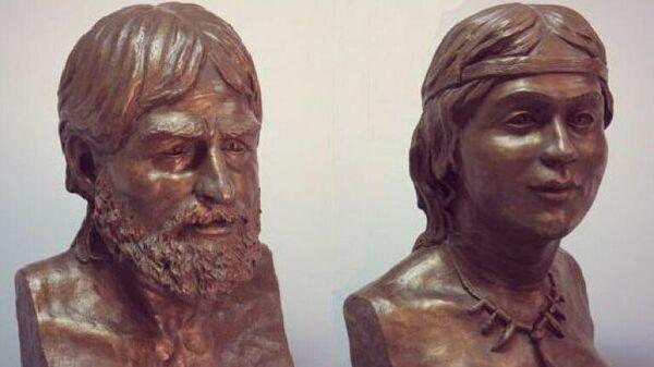 Эти люди жили в Крыму в эпоху мезолита. Реконструкция М. Герасимова